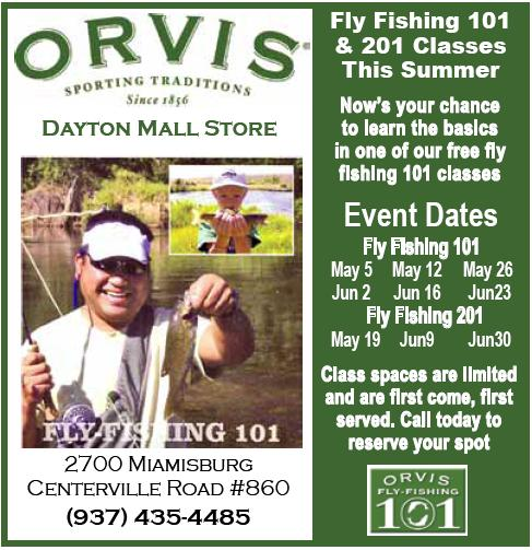 Orvis fly fishing 101 and 201 may june classes summer for Fly fishing classes